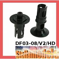 DF03-08/V2/HD Front Diff. Shaft HD Ver. 2 For DF-03 Chassis