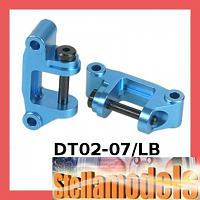 DT02-07/LB Aluminium Front C Mount for Tamiya DT-02