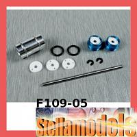 F109-05 Aluminum Center Rolling Damper For F109