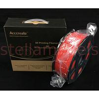 3DP-FA001/RE Acccreate 3D Printer ABS Filament (Red) 1.75mm 1KG