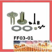 FF03-01 Aluminum Ball Differential For FF-03