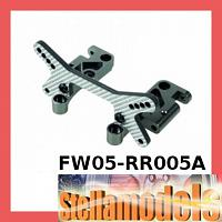 FW05-RR005A Front Shock Tower Mount W/ SSG Graphite for Kyosho FW-05RR