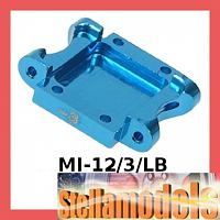 MI-12/3/LB Alu. Rear Suspension Mount (3 Deg) For Losi Micro-T