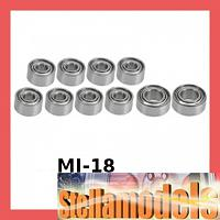 MI-18 Ball Bearing Set For Losi Micro-T