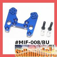 MIF-008/BU Alum Front Shock Tower for MINI INFERNO - BLUE