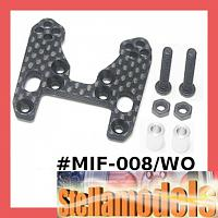 MIF-008/WO Graphite Front Shock Tower for MINI INFERNO