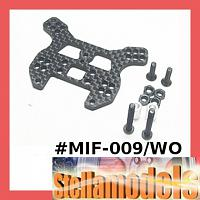MIF-009/WO Graphite Rear Shock Tower For MINI INFERNO