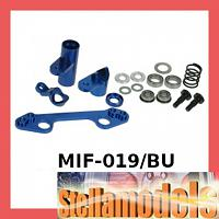 MIF-019/BU Alum Ball Bearing Saver For MINI INFERNO Blue