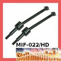 MIF-022/HD Rear Swing Shaft (1 pr) - Heavy Duty  For MINI INFERNO