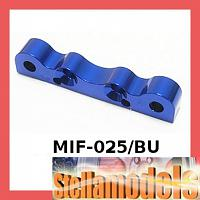 MIF-025/BU Alum Front Suspension Holder For MINI INFERNO Blue