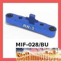 MIF-028/BU Rear Susp Holder (3 Degrees) For MINI INFERNO BLUE
