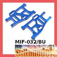 MIF-032/BU Rear Lower Suspension Arm For MINI INFERNO Blue