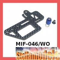 MIF-046/WO Graphite Steering Servo Plate For MINI INFERNO