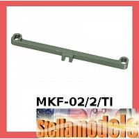 MKF-02/2/TI Front Toe In / Out Linkage 2 Degree For Mini Z F-1