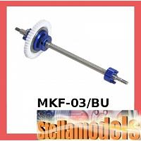 MKF-03/BU Aluminium Ball Diff. Shaft For Mini Z F-1