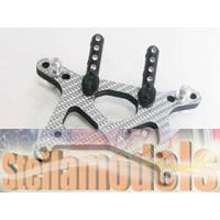 #MT-006A SSG Graphite Front Shock Tower Plate for Mini-T