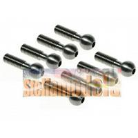 MTX4-09 64 Titanium Pivot Ball 8mm - 8pcs for Mugen Seiki MTX4
