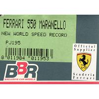 1/43 Ferrari 550 Maranello New World Speed Record (PJ195)
