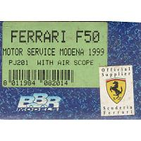 1/43 Ferrari F50 Motor Service Modena 1999 with Air Scope (PJ201)