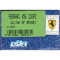 1/43 Ferrari 456 Coupe' Sultan of Brunei (PJ227)
