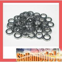 RBB-56014 Rubber Seal Ball Bearing Set for M4 Sherman (24PCS.)