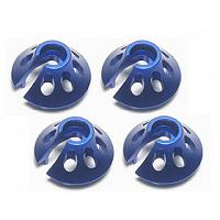 RE-001/B Spring Bottom Cap For Revo ( 4 Pcs ) - Blue