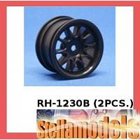 RH-1230B Mini 10 Spoke Wheel (Black) (2PCS.)
