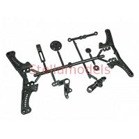 SAK-D109 Steering & Shock Tower Set For Sakura D3