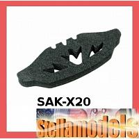SAK-X20 Foam Bumper for 3racing Sakura XI