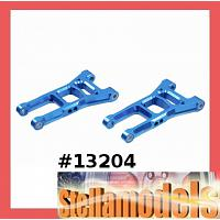 13204 Alloy Front Lower Arms for TA06