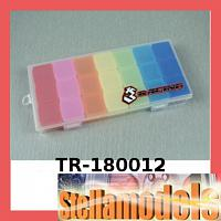 TR-180012 21 Compartments Rainbow Plastic Tool Box