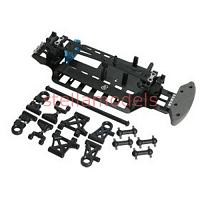 TT01-38/FRP M-Chassis Conversion Kit For TT-01 Type-E & TT-01