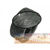 TY-061202 1/10 Rubber Tires (4 pcs) for M-Chassis
