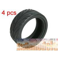 TY-080606 1/10 On Road Rubber Tyre (4pcs)