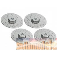 WH-11/D50/SI Brake Disc w/12mm Adaptor 50mm for Tamiya 1/10 Dot