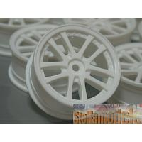 WH-01/WI Dual 5-Spoke Rims For 1/10 Touring Cars - White
