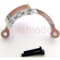 Aluminum motor guard for WR-02 Chassis (Silver) [SAMIX]