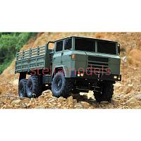 XC6F 6x6 1/12 Military Truck Kit (Upgraded axles & options)
