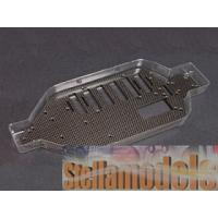 ZX5-21/WO Graphite Main Chassis For Kyosho Lazer ZX-5
