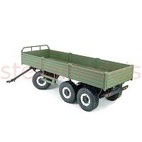 T004 1/12 Scale 3-Axle Trailer Kit (90100010)