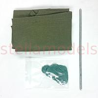 Tarpaulin Cover for 1/12 UC6 Military Truck (97400155)