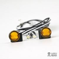 LED Turn Signal / Blinker for Tamiya 1/14 R/C King Hauler (S-1258) [LESU]