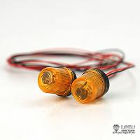 Rotating Beacon (Amber, 2pcs.) for 1/14 Tractor Trucks (S-1263-C) [LESU]