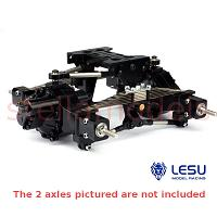 Leaf Spring Suspension for Rear Axles w/upgraded linkages (X-8002-A+) [LESU]