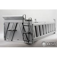Aluminum tipper for 1/14 8x8 Dump Trucks (LS-20121226) [LESU]