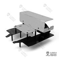 Mechanism deck and battery holder for TAMIYA Volvo FH16 Globetrotter (G-6243) [LESU]