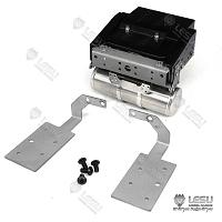 Tail beam - battery box gas tank with light mount for 1/14 R/C Volvo FH16 (L-1029) [LESU]