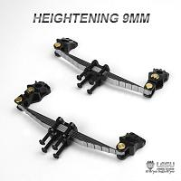 Raised 9mm front leaf suspension for non-driven axle 1/14 R/C Tractor Trucks [LESU]