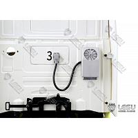 Tractor truck external parking air conditioner unit [LESU]