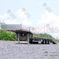 3 axle semi low loader with hydraulic ramps [LESU]
